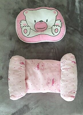 Baby Anti Flat Head Pillow And Anti Roll Sleep Support Pillow New
