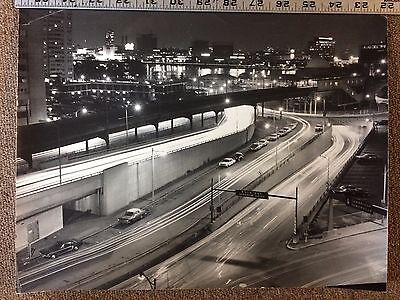 Boston Area Vintage Black & White Large Aerial Photos 1960(?)
