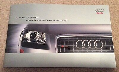 2006/2007 Audi Brochure: Arguably The Best Cars In The World