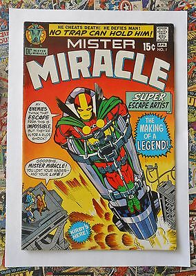 MISTER MIRACLE #1 - APR 1971 - 1st MISTER MIRACLE APPEARANCE! - VFN (8.0)
