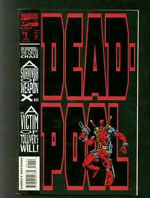Deadpool The Circle Chase Mini-Series Issues 1, 2 & 3.- Marvel Comics 1993