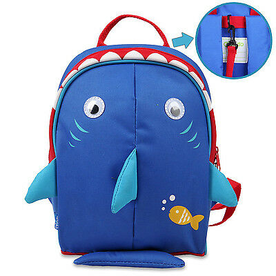 Child Safety Harness Backpack Kid Insulated Lunch Carry Bag Toddler Leash New