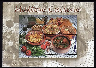 Malta 2002 Maltese Cuisine / Cookery Complete Set SG MS1273 Unmounted Mint