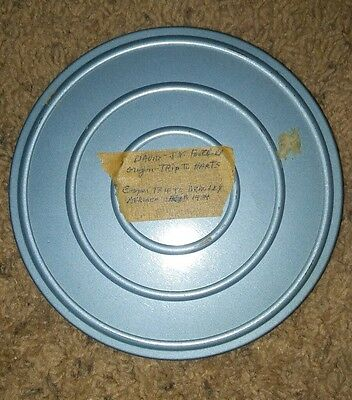 Vintage 1930s 8mm Home Movie Film Reel Vacation football 1939