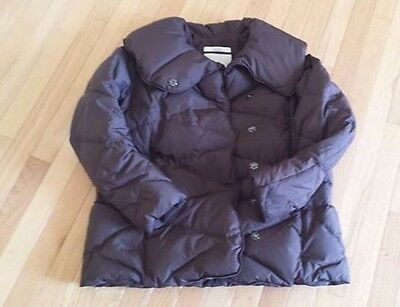Women's Old Navy Chocolate Maternity Puffer Coat, Sz S