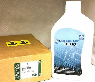 Land Rover Zf-Lifeuard 8 Fluid Full Synthetic Oil Lr023288 1 Ltr