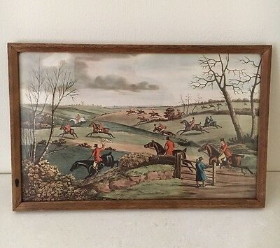 Vintage Limited Edition Medici Society Print FULL CRY by ALKEN Hunting Scene