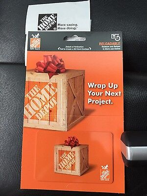 $200 Home Depot Gift Card (FREE shipping)