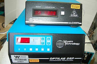 Wyatt  Optilab DSP Interferometric Refractometer WCT-01 Tri-Star miniDAWN detect