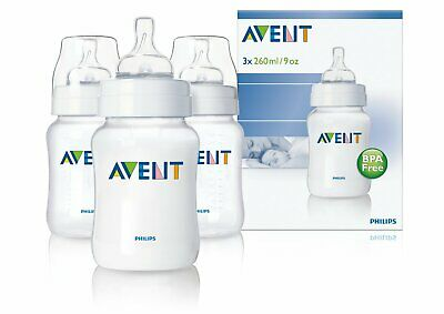 Philips AVENT Classic Feeding Bottle 260ml/9oz Triple - SCF683/37