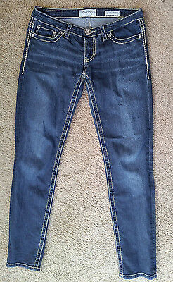 Buckle Daytrip Aries Skinny Jeans Denim Pocket Bling Size 29 R