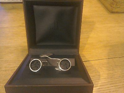 VERY RARE Genuine Silver Dunhill Cuff links -2