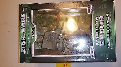 Star Wars Miniatures Imperial Attack on Endor Scenario Pack AT-ST
