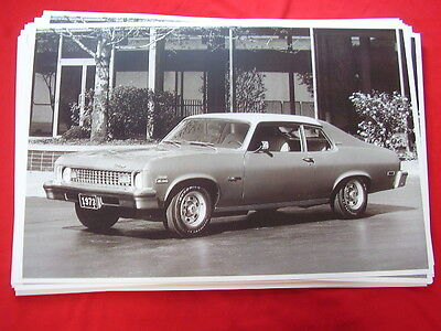 1973 Chevrolet  Nova Hatchback   11 X 17  Photo  Picture