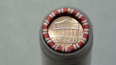 2017-D  Lincoln Shield Cent Roll Penny  *IN AIRTIGHT TUBE* UNSEARCHED 1c #TD1