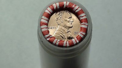 2017-D  Lincoln Shield Cent Roll Penny  *IN AIRTIGHT TUBE* UNSEARCHED 1c #TD4