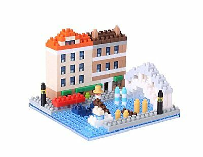 Kawada NBH_092 Nanoblock Water City of Venice 3D Puzzle F/S from Japan