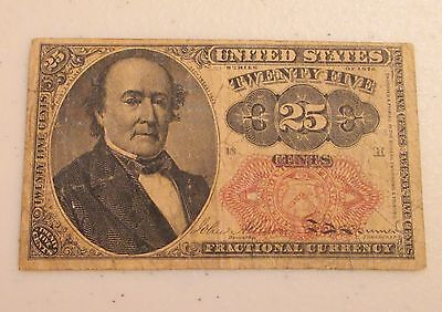 Series of 1874 US Fractional Currency 25 Cents 25C - Lot AD5