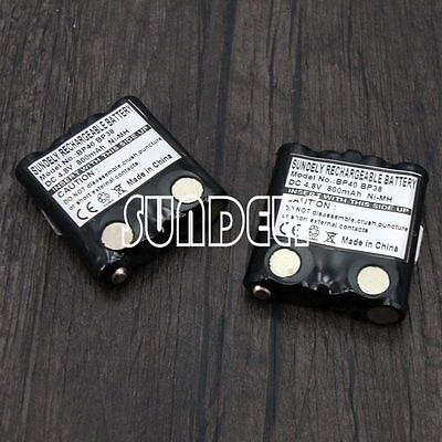 Ni-MH Battery Pack For Uniden Walkie Talkie Radio PMR-845 PMR-885 GMR GMRS 2x