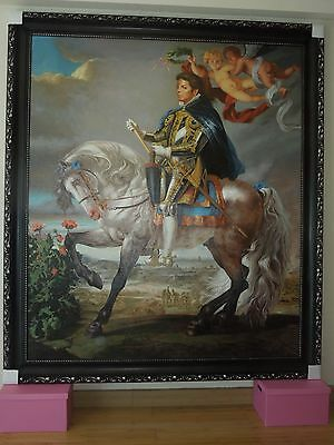 Michael Jackson Oil Painting By Kehinde Wiley (Reproduction)