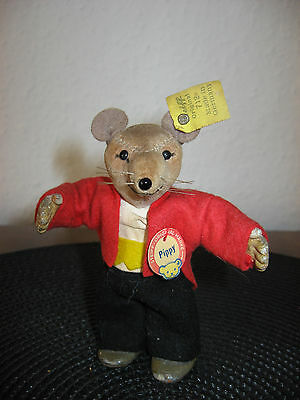 Steiff alte Puppe Maus Pippy K,F,S Nr. 712 vintage Steiff doll mouse Pippy