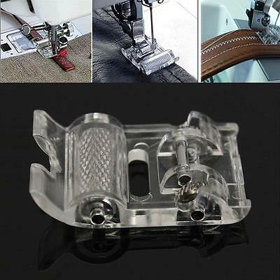 Sewing Machine Parts Press Foot Presser Leather Roller Foot For Brother Janome