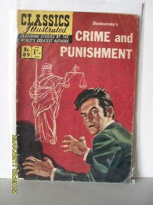 Classics Illustrated - Crime And Punishment  - No 89 - Hrn 106
