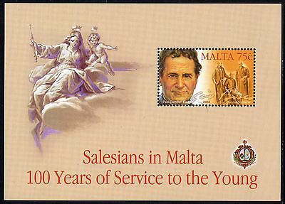 Malta 2004 Centenary of Salesians in Malta Complete Set SG MS1354 Unmounted Mint