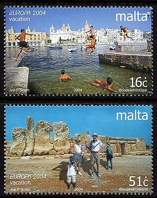 Malta 2004 Europa - Holidays Complete Set SG1373 -4 Unmounted Mint