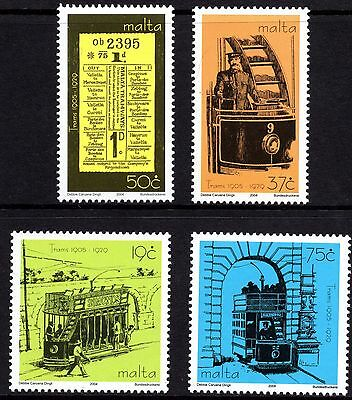 Malta 2004 Trams Complete Set SG1380 -1383 Unmounted Mint