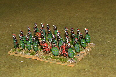 1/100 15mm DPS painted Ancient  Mid-Late Imperial Roman Legionary RM005