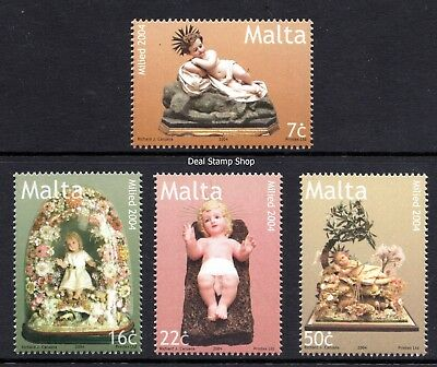 Malta 2004 Christmas Complete Set SG1397 - 1400 Unmounted Mint