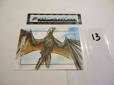 Game of Thrones Season 6 Hand-Drawn Color Sketch Card by Dan Gorman (13)