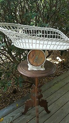 VINTAGE Wicker Baby Scale