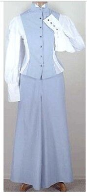 NWT Frontier Classics Old West Blouse & Riding Skirt SZ S/6 Steampunk Victorian