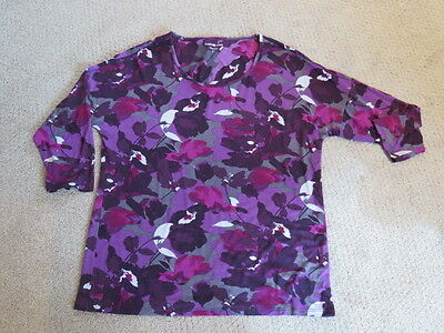 Coldwater Creek - Women's Top - Blouse - Floral - Size Small