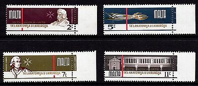 Malta 1976 300th Anniv. Anatomy Surgery Complete Set SG 564 - 567 Unmounted Mint