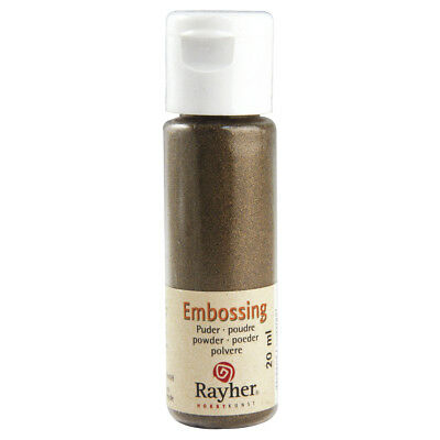Embossing-Puder, gold, deckend (24,95 EUR pro 100 ml)