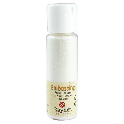 Embossing-Puder, irisierend, transparent (24,95 EUR pro 100 ml)