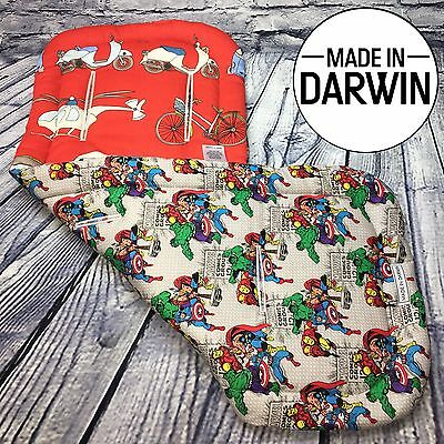 REDUCED! Universal Marvel Superhero Reversible Pram Liner By Made In Darwin