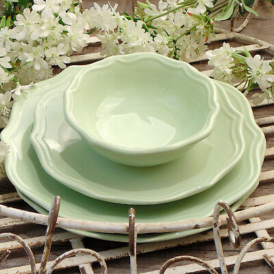 Ciotola Coppa Macedonia Shabby Chic Colore Verde Lime Angelica Home & Country