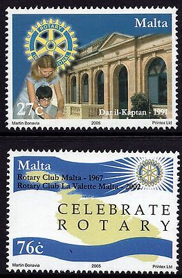 Malta 2005 Centenary Rotary International Complete Set SG 1405 -6 Unmounted Mint