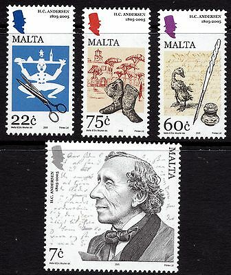 Malta 2005 Hans Christian Anderson Complete Set SG 1407 - 10 Unmounted Mint