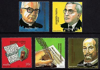 Malta 2005 Personalities Complete Set SG 1436 - 1439 Unmounted Mint