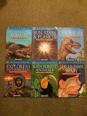Kingfisher, Discover the World, Questions & Answers, Paperback Books, x 6