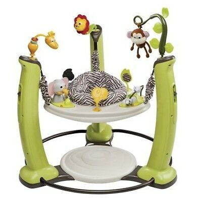 Evenflo ExerSaucer Jump & Learn Stationary Jumper, Jungle Quest