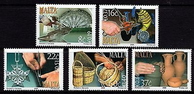 2006 Malta Crafts Complete Set SG 1510 - 1514 Unmounted Mint