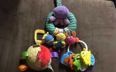 Baby Einstein Multiple 3 Shapes Plush Picture Teether Toy Replacement Part