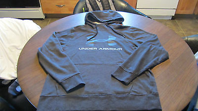 Under Armour  Charcoal Gray Hoodie Men's size XL