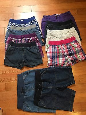 Lot Of 10 Shorts For Girls EUC Size 7